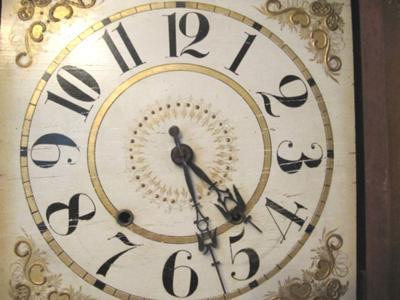 George Marsh Clock - dial