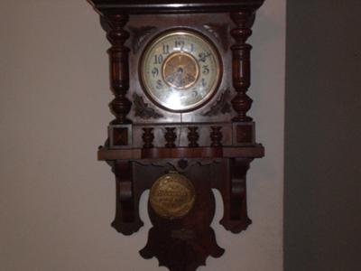 German Free Swinger Wall Clock