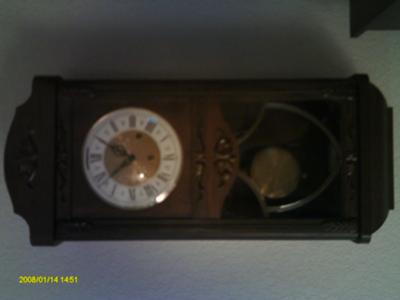 W. German Clock