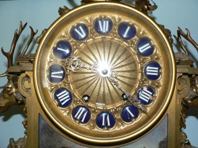 Inherited Tiffany & Co.clock set