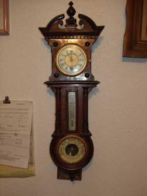 Gustav Becker Clock?