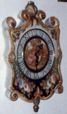 Capodimonte Musical Wall Clock