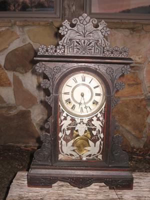 My grandmother's Gilbert mantle clock