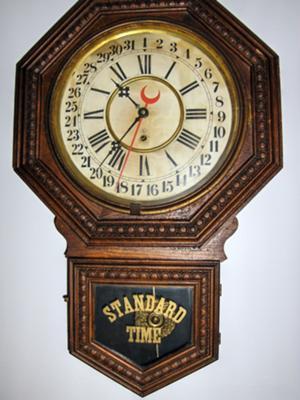 Gilbert Calendar Wall Clock