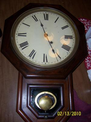 Seth Thomas Schoolhouse Clock