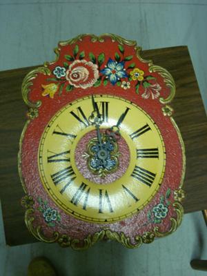 Weight Driven Wall Clock