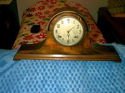 New Haven Tambour Clock