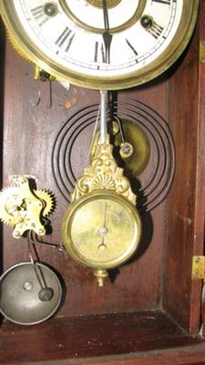 New Haven clock dial