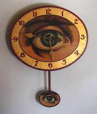 Optic Eye Clock - original