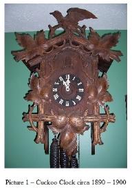 An Antique Cuckoo Clock