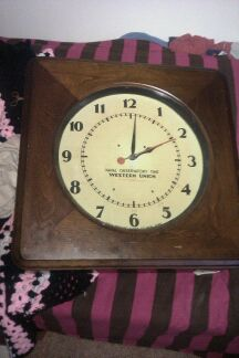 Clock closed