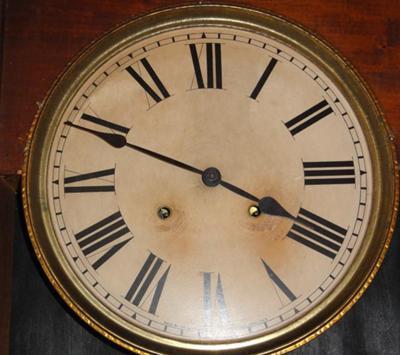 Sessions Antique Regulator Wall Clock