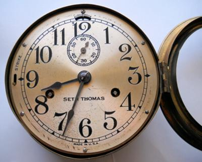 SETH THOMAS Ship Bell clock - What model???