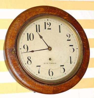 Simple ship's clock