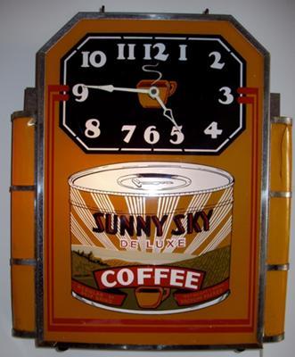 Sunny Sky clock