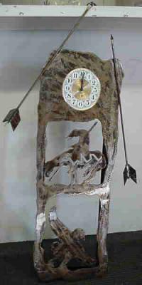 Hand Made Clock Art