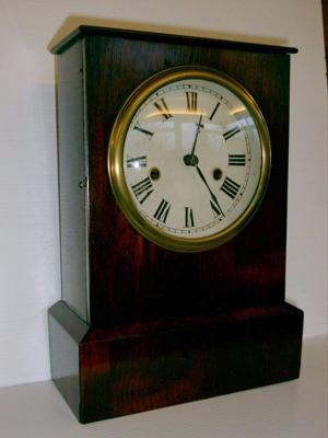 Fusee Powered Mantel Clock