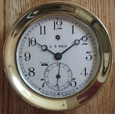 Chelsea Ships Clock