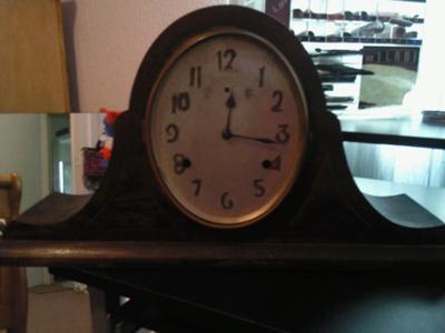 FRONT OF GILBERT CLOCK